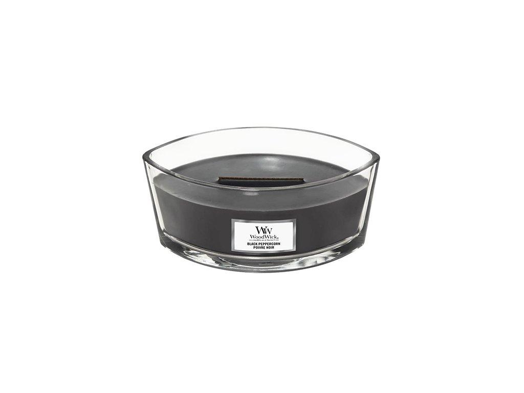 Svíčka dekorativní váza WoodWick Černý pepř 453.6 g