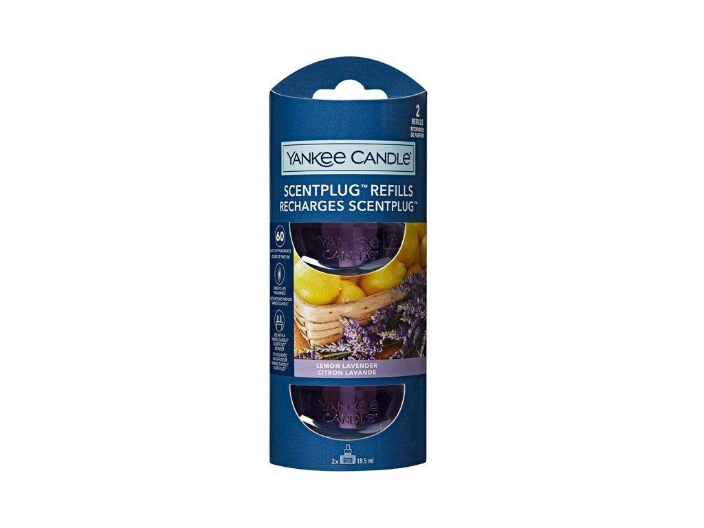 Yankee Candle Lemon Lavender náplň pro vůně do elektrické zásuvky, 2x 18,5ml