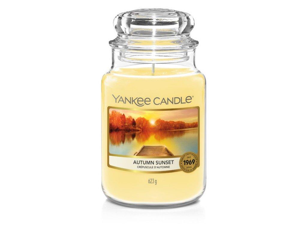 Yankee Candle Autumn sunset, 623 g classic velký