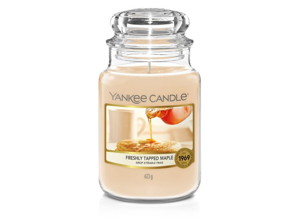 Yankee Candle Freshly tapped maple, 623 g classic velký