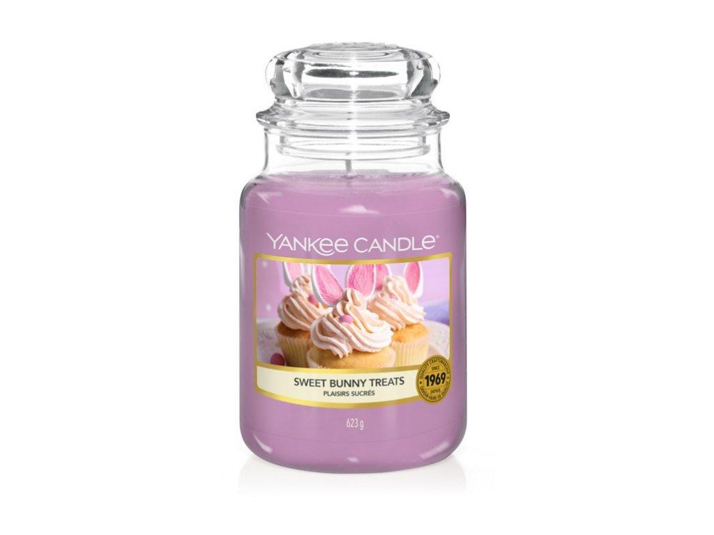 Yankee Candle Sweet bunny treats, 623 g classic velký