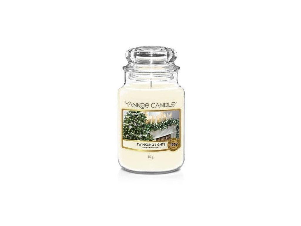 111807 yankee candle classic vonna svicka twinkling lights 623 g