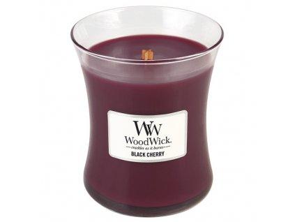 Svíčka WoodWick černá třešeň, 275 g