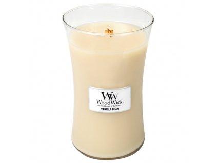 Svíčka WoodWick vanilka, 609,5 g