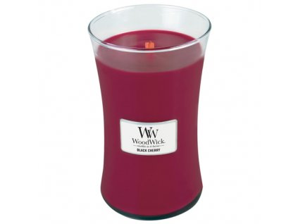 Svíčka WoodWick černá třešeň, 609,5 g