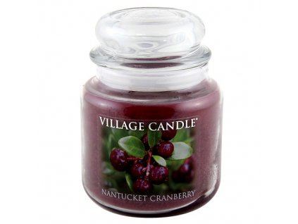 Svíčka Village Candle 454g, brusinka