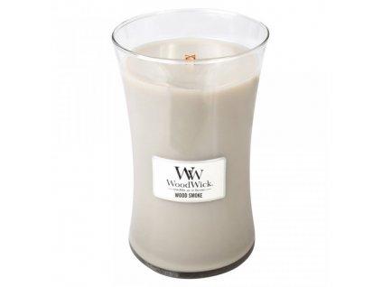 Svíčka WoodWick Kouř z cedrového dřeva, 609,5 g