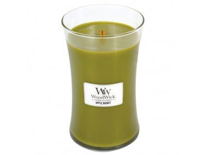 Svíčka Woodwick Košík jablek, 609,5 g