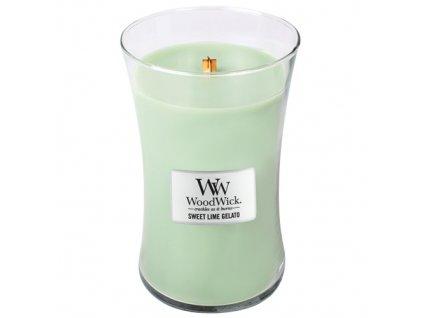 Svíčka Woodwick Sladká zmrzlina, 609,5 g