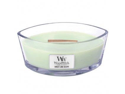 Svíčka Woodwick Sladká zmrzlina, 453,6 g
