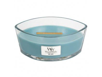 Svíčka Woodwick Svěží prádlo, 453,6 g