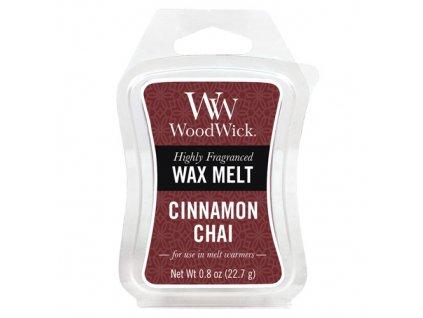 Vonný vosk WoodWick 22 g Skořice a vanilka