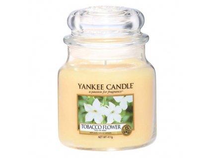 Yankee Candle Tobákový květ, 410 g classic střední