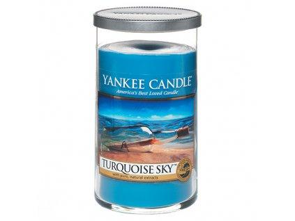 Yankee Candle Tyrkysová obloha, 340 g decor střední