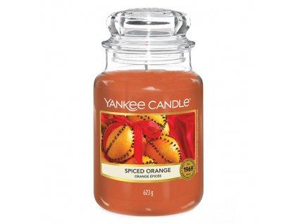 Yankee Candle Pomeranč se špetkou koření, 623 g classic velký
