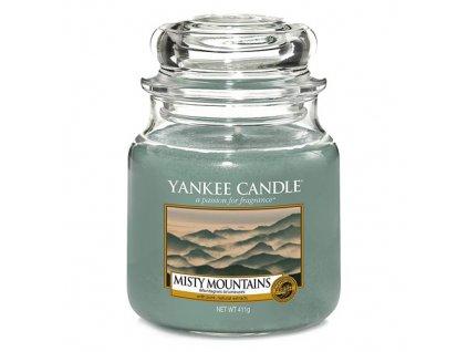 Yankee Candle Mlžné hory, 410 g classic střední