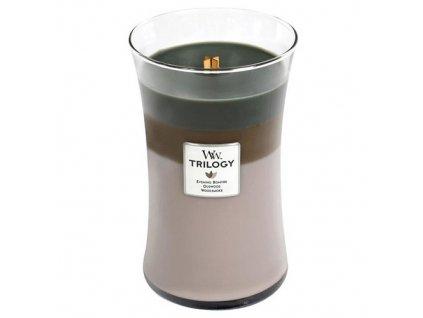 Svíčka Trilogy Woodwick 609.5 g Útulný srub