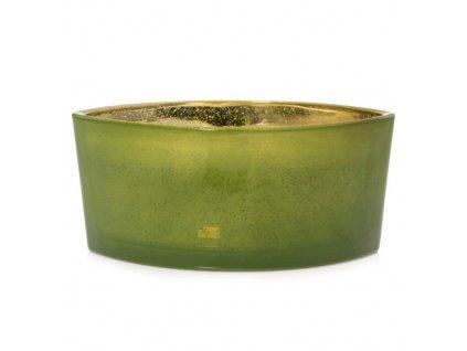 Svíčka dekorativní váza WoodWick Vůně jehličí sváteční 453.6 g