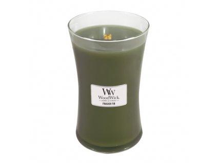 Svíčka oválná váza WoodWick Jedle 609.5 g
