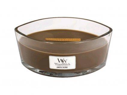 21719 1 vonna svicka woodwick v dekorativni vaze amber incense ambra a kadidlo 453 6 g