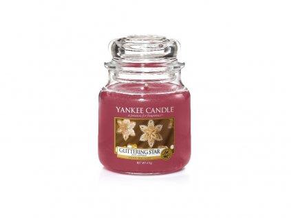 Yankee Candle Glittering Star Zářivá hvězda, 410 g classic střední