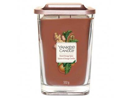 Yankee Candle Sladký pomeranč a koření, 552 g elevation velký