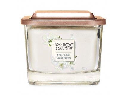 Yankee Candle Čisté prádlo, 347 g elevation střední