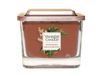Yankee Candle Sladký pomeranč a koření, 347 g elevation střední