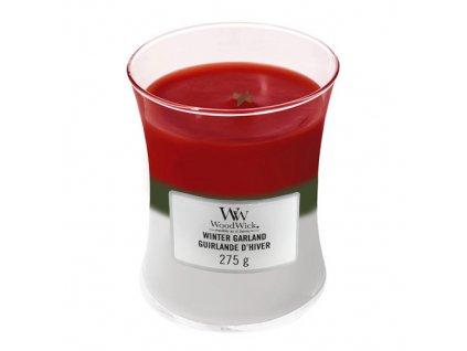 Svíčka Trilogy WoodWick Zimní girlanda, 275 g