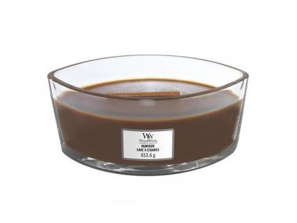 Svíčka dekorativní váza WoodWick Pouzdro na doutníky, 453.6 g