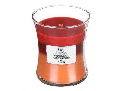 Svíčka Trilogy WoodWick Podzimní sklizeň, 275 g