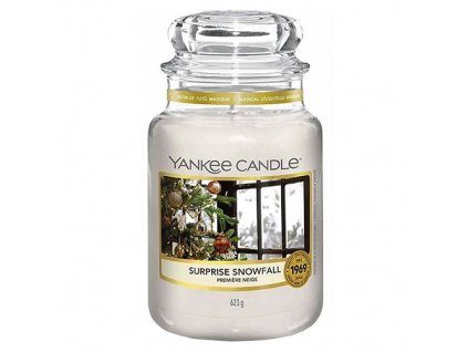 Yankee Candle Snowfall surprise Sněhové překvapení, 623 g classic velký