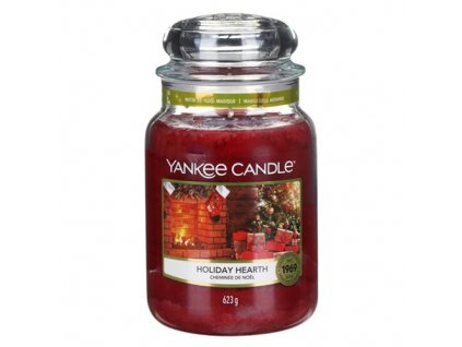 Yankee Candle Sváteční krb, 623 g classic velký
