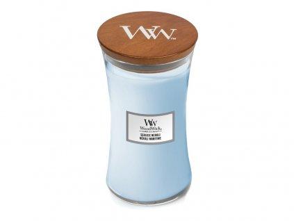 Svíčka oválná váza WoodWick Seaside Neroli 609.5 g