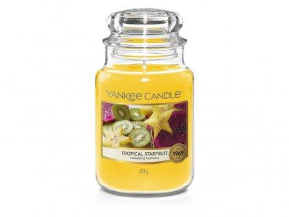 Yankee Candle Tropical starfruit, 623 g classic velký