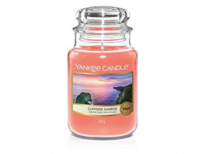 Yankee Candle Cliffside sunrise, 623 g classic velký