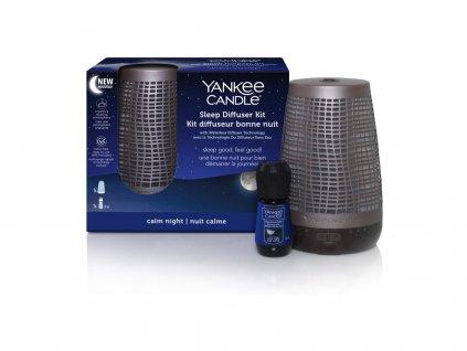 Yankee Candle elektrický difuzér pro klidný spánek bronzový