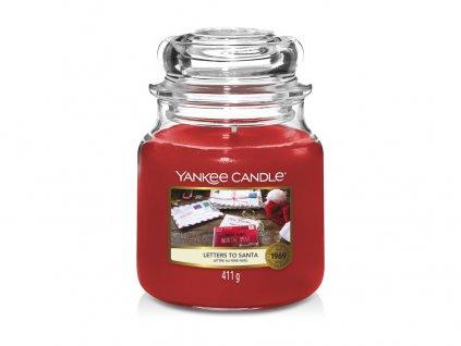 Yankee Candle Letters to Santa Vánoční přání, 410 g classic střední