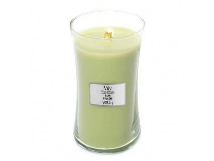 Svíčka Woodwick Kapradina, 609.5 g