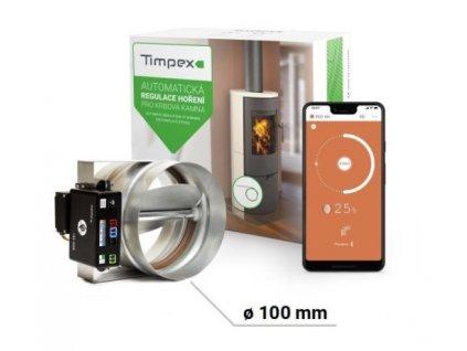 Regulace hoření Timpex Eco 10+