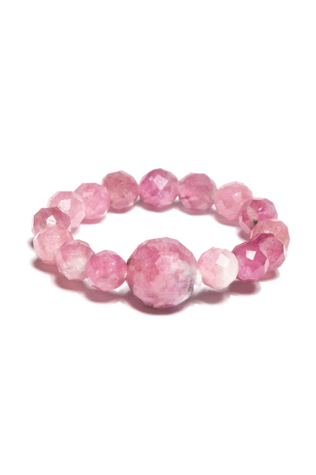 Dámsky prsteň z ružového turmalínu