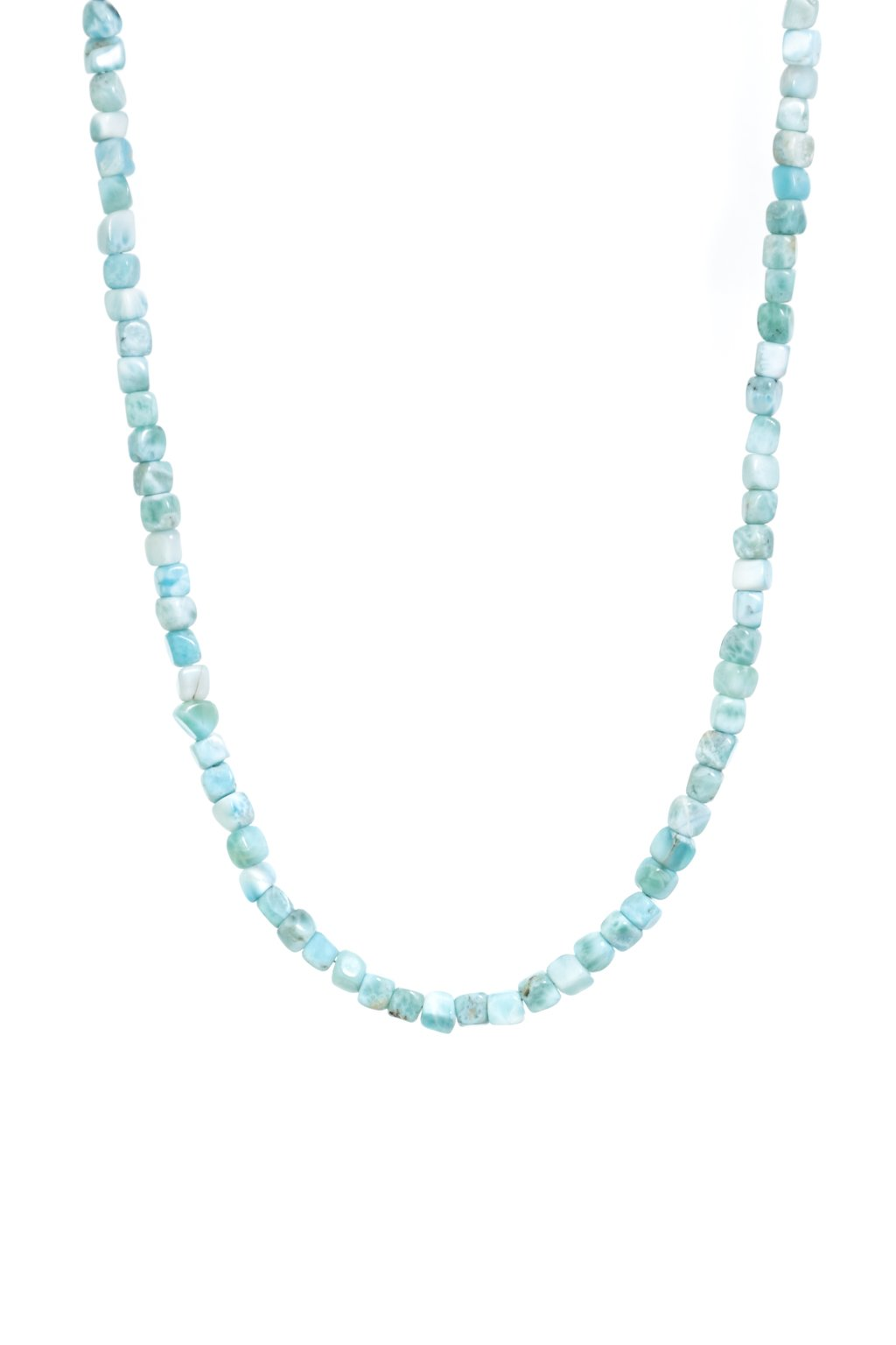 140 Dámsky náhrdelník z minerálu larimar larimáru