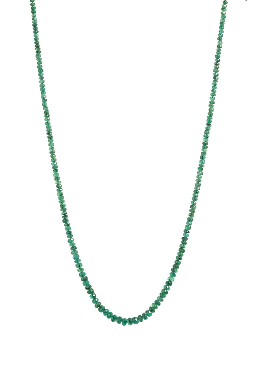 143 Smaragdový náhrdelník