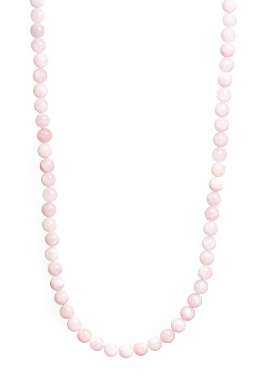 Dámsky náhrdelník z minerálov madagaskarského ruženínu