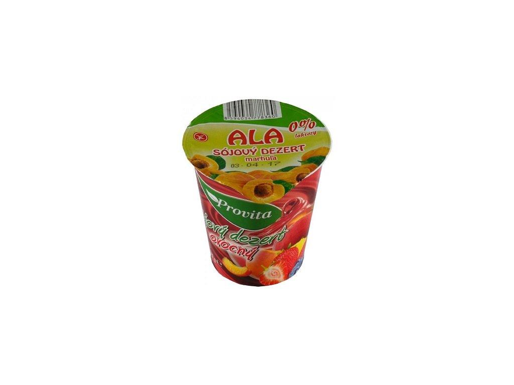 Sojový dezert meruňka ALA 0%laktózy 135g