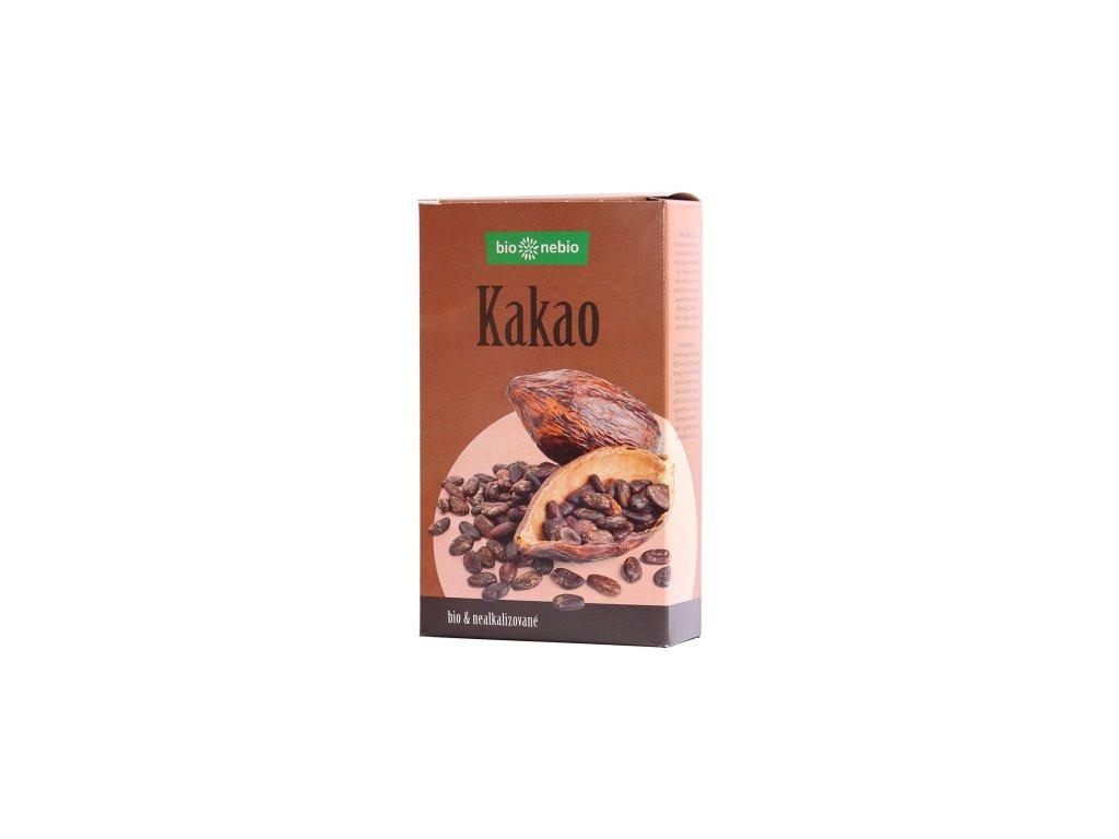 Kakaový prášek nepražený hnědý 150g  BIO