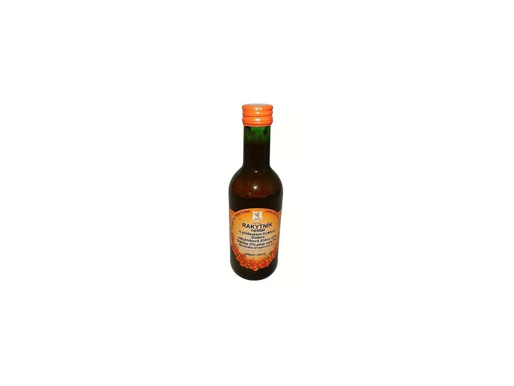 Rakytníkový nektar s fruktózou 250ml