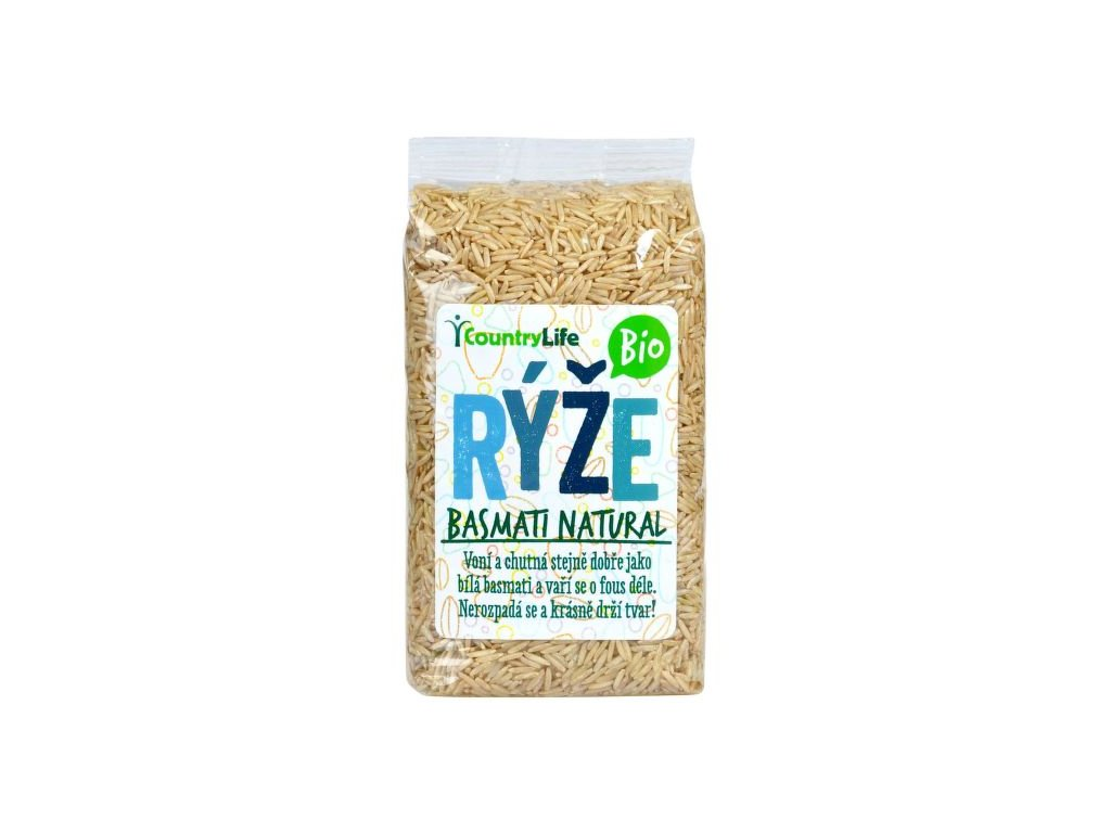Rýže Basmati natural 500g CL BIO
