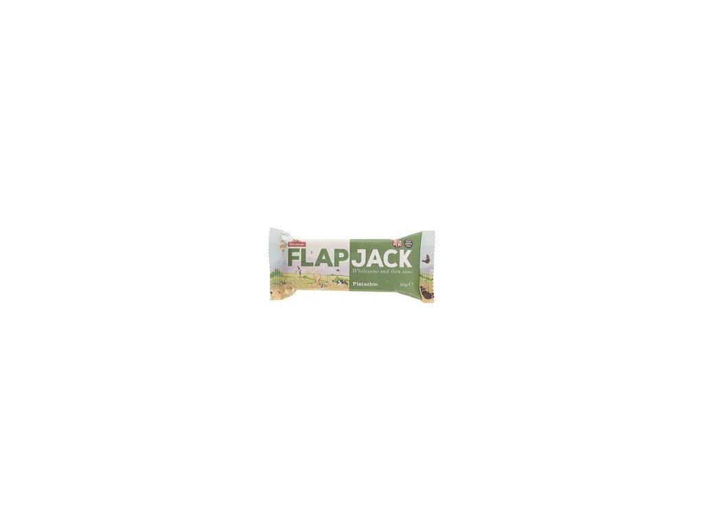 Flapjack ovesný pistácie 80g CL