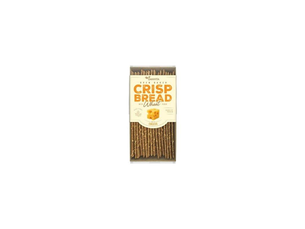 Křehké pšeničné plátky se sýrem 130g Danvita